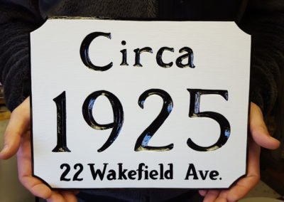 2016 House Number