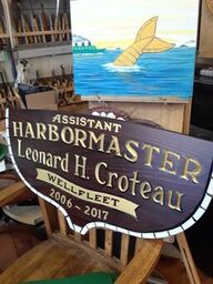 Harbormaster Leonard Croteau Wellfleet
