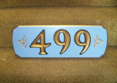 House Sign 499