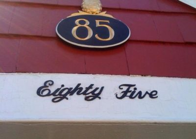 House Sign with Pineapple 85