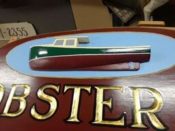 Loberster Boat on Sign 11.29.17