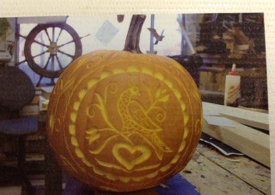 pumpkin folk art