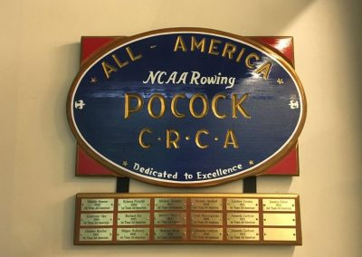 All American NCAA Rowing